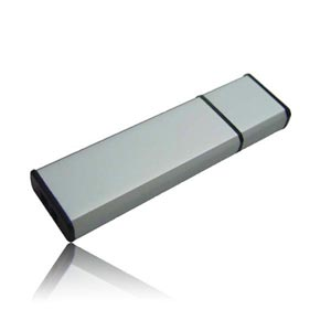 Plastic Sleek USB Flash Drive, Plastic Memory Stick