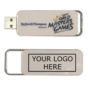 Plastic Bold USB Flash Drive, Plastic Memory Stick
